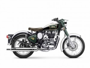 Royal Enfield Classic 500 Chrome Forestgreen