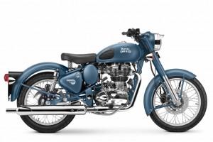 Classic 500 Mattblau