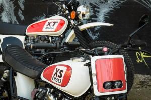 PIG7 XS650 Bobber mit restaurierter XT500